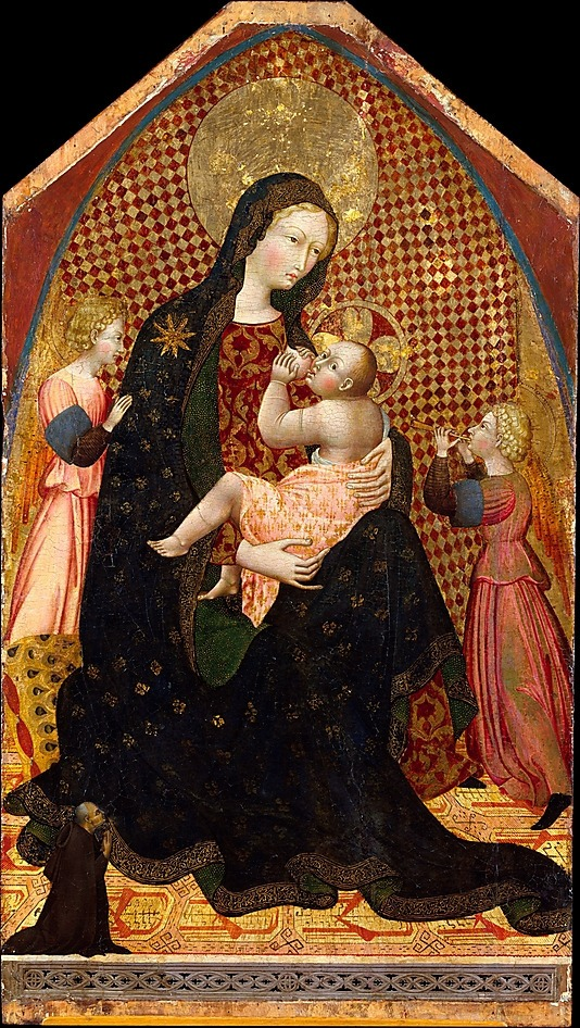 13.-Madonna-and-Child-with-Two-Angels-and-a-Donor-Giovanni-di-Paolo-