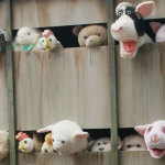 Bansky's slaughter truck: stuffed toys raise questions about the meat industry but also about ourselves