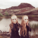 Beautiful or creepy? Portraits of Erna and Hrefna, two young twins from Iceland