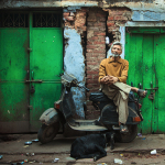 Portraits of the kind Muslim men of Delhi: an interview with French photographer Serge Bouvet