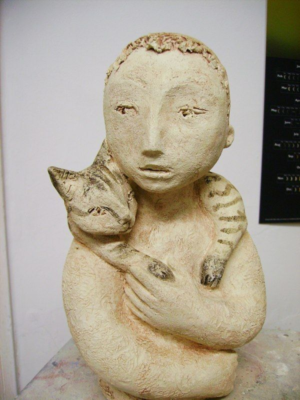 girl with cat 2